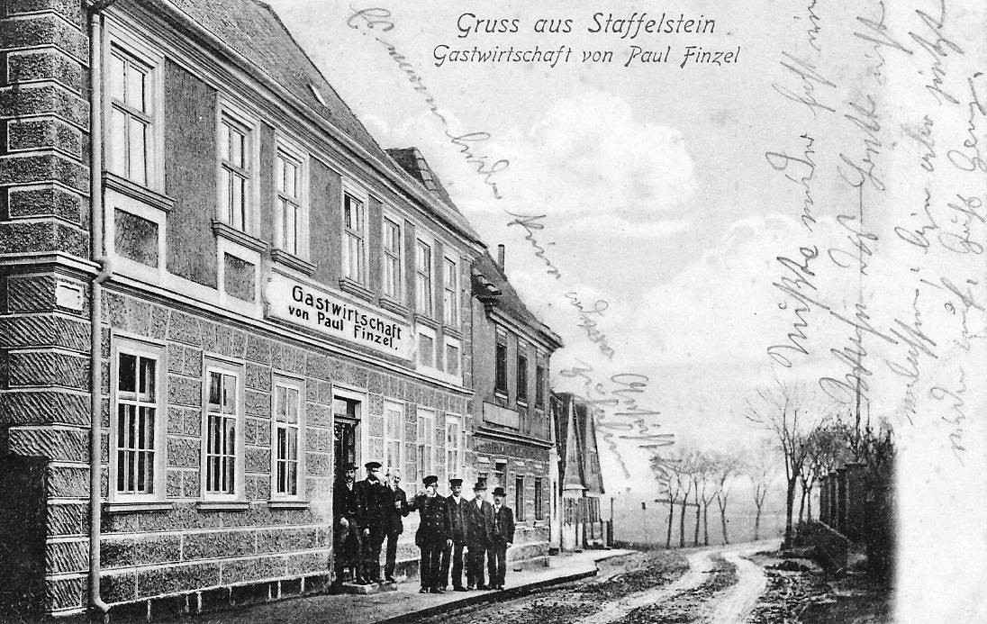 Gasthaus vom Brauer Paul Finzel in Bad Staffelstein